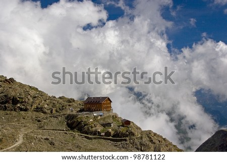 mountain hut Stettin