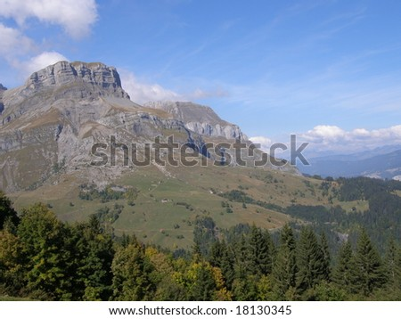 Mountain in autumn