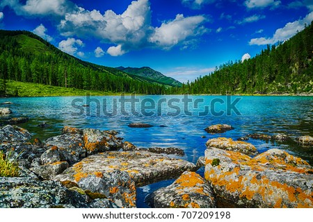 stock-photo-mountain-lake-in-front-of-mo