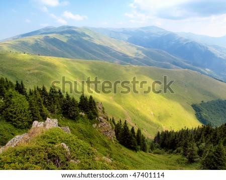 Mountain Range - stock photo
