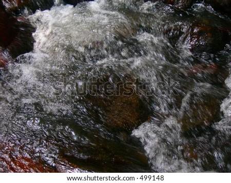 Mountain Rapids - stock photo