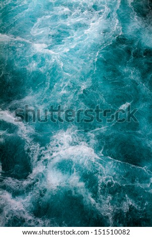 Mountain River, Rushing Water Flowing Texture, New Zealand - stock photo