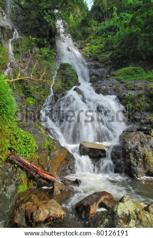 Mountain River , Thailand - stock photo