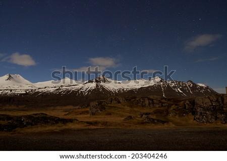 Mountain Stars - stock photo