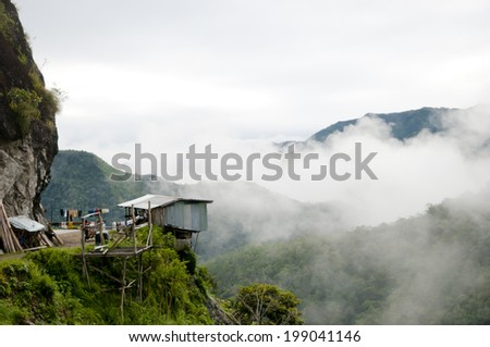 Mountain Vista - Philippines - stock photo