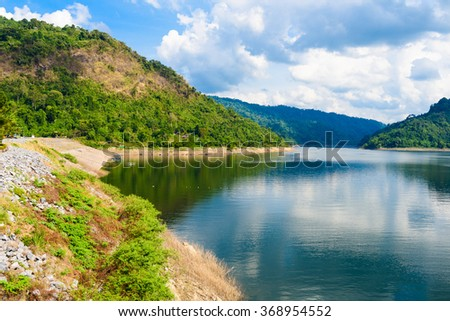 Mountain water source, back of Khun Dan Prakan Chon Dam, Nakhon Nayok, Thailand
