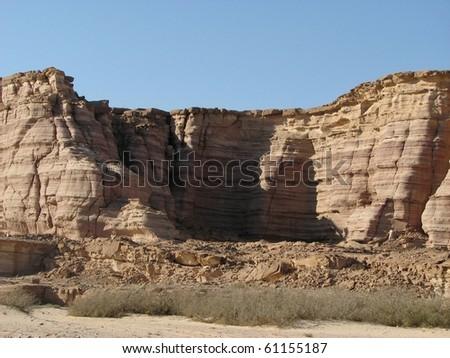 Mountains in Sinai - stock photo
