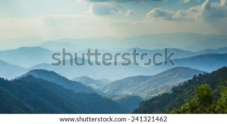 Mountains in Thailand