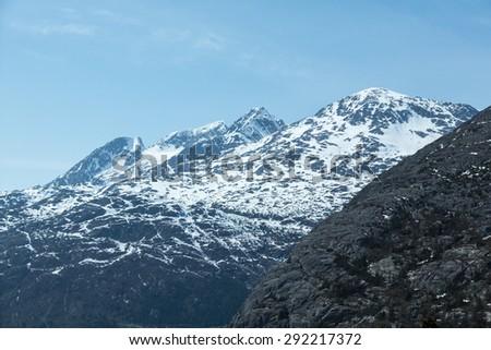 Mountains near Skagway