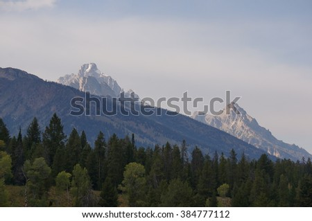 Mountains of Grand Teton and Yellowstone National Parks