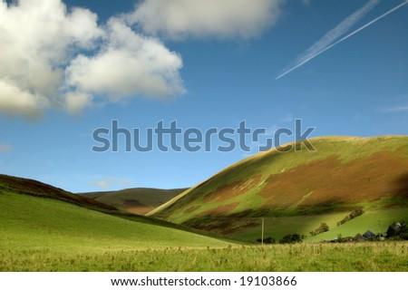 mountains of Scotland - stock photo