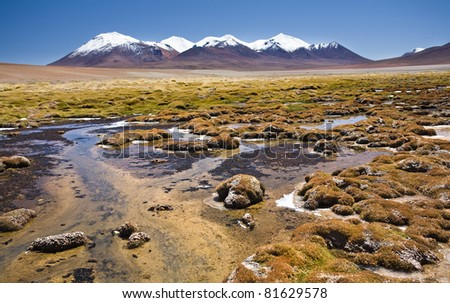 Mountains of southern altiplano