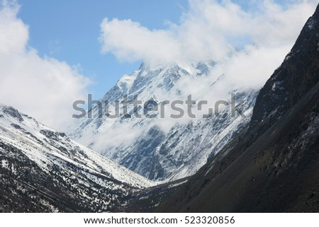 mountains of Tien Shan, Kyrgyzstan