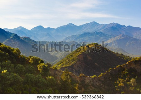 Mountains of western Crete