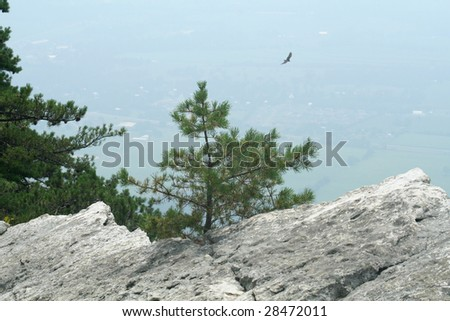 Mountaintop - stock photo