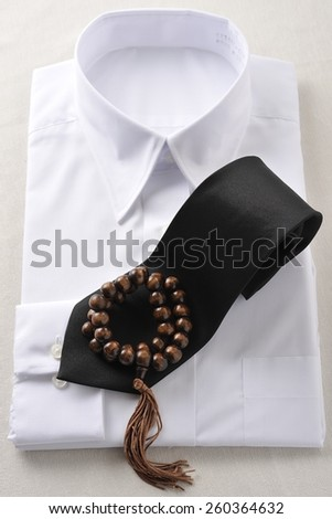 Mourning and religion - stock photo