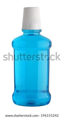 Mouthwash  - stock photo