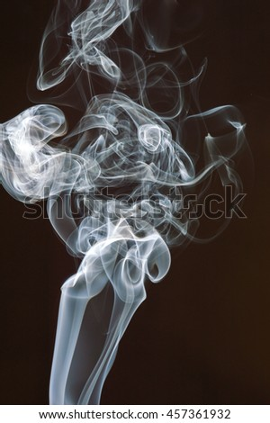 movement of smoke abstract background.