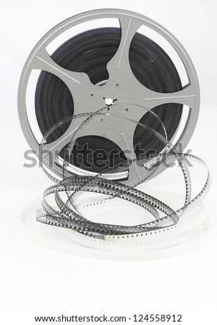 movie film reel - stock photo