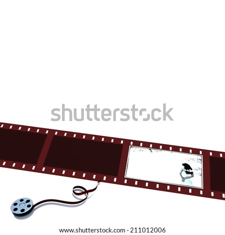 Movie reel for adv or others purpose use