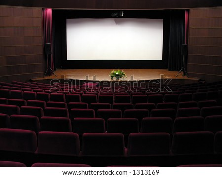 Movie Theater - stock photo
