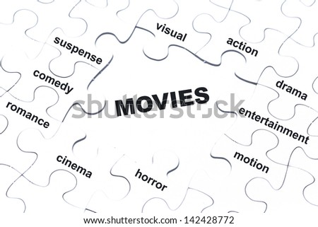 Movie genre stock images royalty free images vectors for Farcical film genre crossword