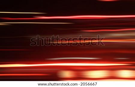 moving cars blur - stock photo