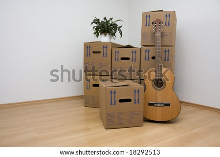Moving Day - stock photo