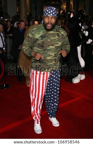 Mr. T  at the World Premiere of 'Bolt'. El Capitan Theatre, Hollywood, CA. 11-17-08 - stock photo