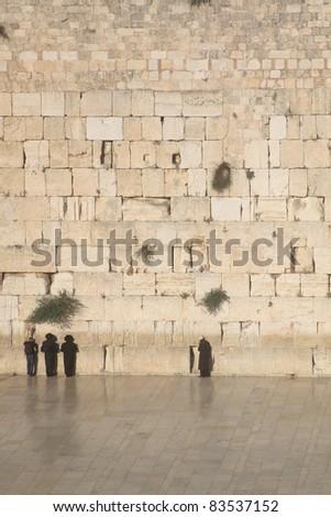 Mt. Olives at Sunset, Jerusalem, Israel - stock photo