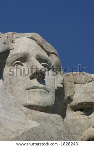Mt. Rushmore and Thomas Jefferson