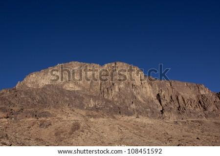 Mt. Sinai - stock photo
