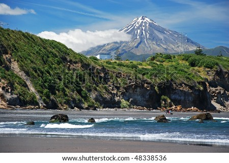 Mt. Taranaki, New Plymouth, new Zealand