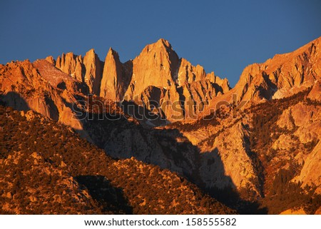 Mt. Whitney landscapes
