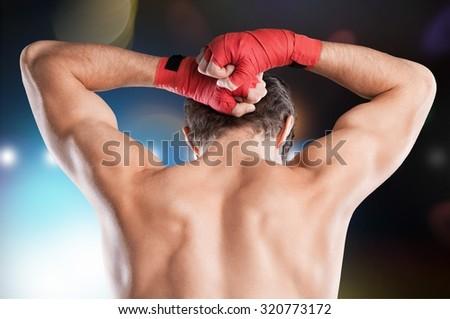 Muay Thai. - stock photo