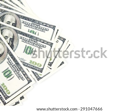 much money - stock photo
