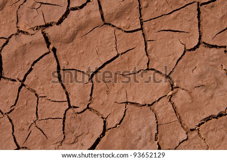 Mud texture before rain - stock photo
