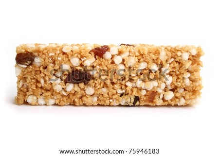 Muesli bar - stock photo