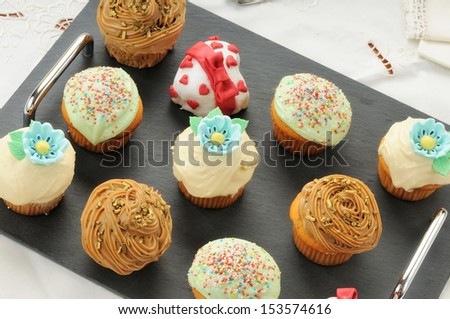muffins decorated