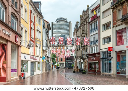mulhouse france july 14 2016 city stock photo royalty free 473927698 shutterstock. Black Bedroom Furniture Sets. Home Design Ideas