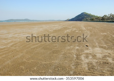 Mullambin Beach at Capricorn Coast between Yeppoon and Kinka Beach Central Queensland, Australia