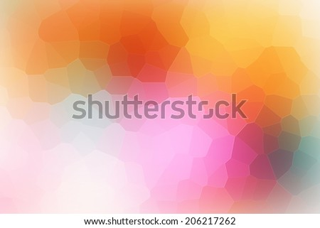 Multi-Color Abstract Mosaic Background