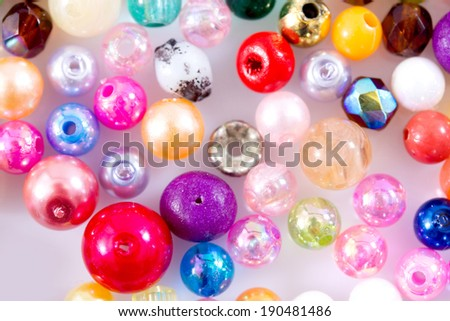 Multi-color beads