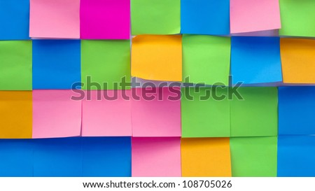 Multi color sheet. - stock photo
