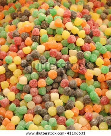 Multi-colored Candy - stock photo