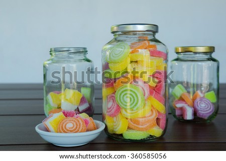 Multi colour Candies for child