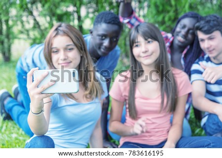 royalty-free-group-of-teens-teen-and-young-adult-shelters