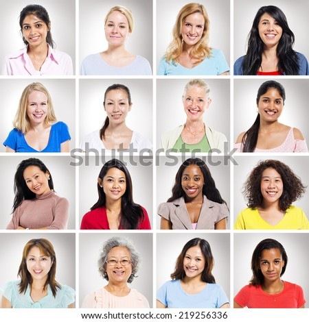 Multi-Ethnics People - stock photo