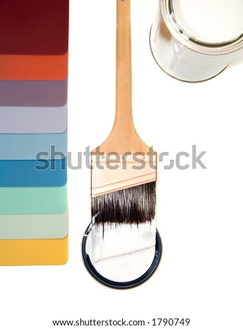 Multi Tabbed Color - stock photo