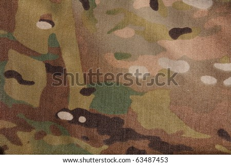 Multicam camouflage pattern - stock photo